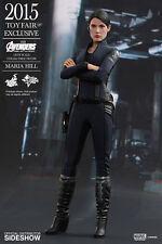 The Avengers Age of Ultron Maria Hill 1/6 figura de acción Toy Fair Hot Toys Sideshow