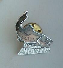Alberta FISH  Lapel Hat Souvenir Pin
