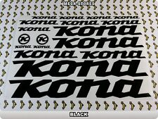 KONA Stickers Decals Bicycles Bikes Cycles Frames Forks Mountain MTB BMX 57S