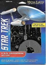 Star Trek Classic TV Enterprise 1701 Metal Earth 3-D Laser Cut Steel Model Kit