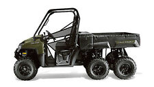 2013 POLARIS RANGER 4X4 6X6 800 EPS CREW SERVICE SHOP REPAIR MANUAL - ON CD