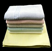 18 x Wholesale Greek Border 100% Cotton Jacquard Bath Sheets / Beach Towels