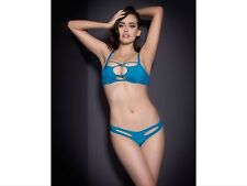 Agent Provocateur Liza stretch silk bra - 34B - turquoise - new with tags