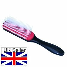 Denman D3 Medium 7 Row Styling Hair Brush Smoothing & Styling - All Hair Types