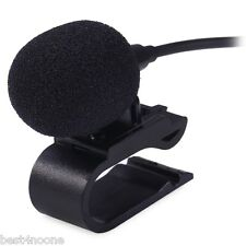 3.5mm External Microphone Mic for Car DVD Radio Laptop Stereo Player HeadUnit