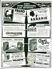 """Publicité Ancienne """" Aidez votre Organisme à se défendre  1942 """"  ( P 37 )"""