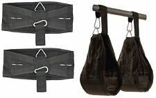 UK Warrior Universal Abdominal Slings (Pair) Ab Slings Straps Chin Up Bar Gym