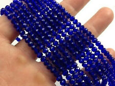 100pcs deep blue exquisite Glass Crystal 3*4mm #5040 loose beads