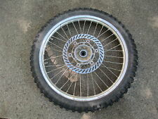 KAWASAKI KX250 1991 front rim wheel used kawasaki 250 motorcycle parts