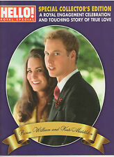 PRINCE WILLIAM KATE MIDDLETON HELLO! CANADA ENGAGEMENT SPECIAL PRINCESS DIANA DI