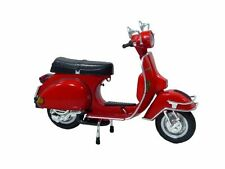 ya08340 Aoshima Skynet 1/12 Die Cast Motorcycle Model VESPA P200E (1978/Red)