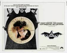 THREE DAYS OF THE CONDOR Movie POSTER 30x40 Robert Redford Faye Dunaway Cliff