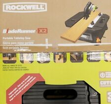 RK7323 Rockwell BladeRunner X2 Tabletop Saw COMBO free S/H