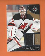2015-16 ULTIMATE COLLECTION CORY SCHNEIDER GAME-USED JERSEY #d 191/199 DEVILS
