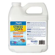 Api Stress Coat+ 64 fl oz Removes Chlorine, Chloramine, Ammonia in Tap Water