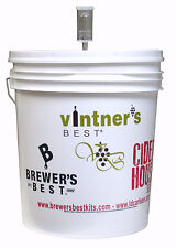 7.9 Gallon Fermenting Bucket w/Lid & Air Lock For Beer, Wine, Mead & Cider