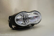 Universal Custom Twin Black Motorcycle Headlight Streetfighter Cafe Racer Bandit