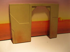 Star Wars G.I Joe Custom Cast Mos Eisley Door Way Tatooine Diorama Part 3.75