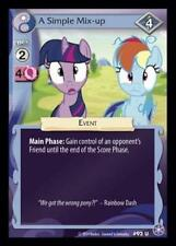 3x A Simple Mix-up - 92 - My Little Pony The Crystal Games MLP CCG