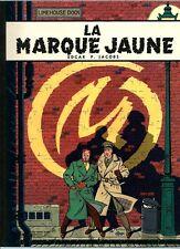 RARE EO 1966 EDGAR PIERRE JACOBS / ÉDITION ORIGINALE PÉLLICULÉE  LA MARQUE JAUNE