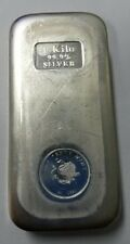 Perth Mint Australia Extruded 1 kg One Kilo .999 Silver Bar