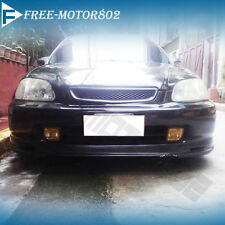 FRONT BUMPER LIP SPOILER WING BODYKIT PP FIT FOR 96-98 HONDA CIVIC 2 3 4DR MUGEN