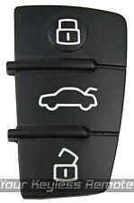 New Audi Replacement Pad Remote Key Keyless Fob For 3 Button Switchblade Flip