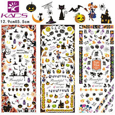 Triple Halloween Nail Art pegatinas Decal # hot199-201 transferencia de agua