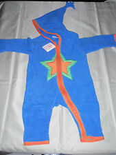NWT HANNA ANDERSSON SNUGGLE UP NORDIC FLEECE BABY BOY BUNTING Star 60 3-6 M