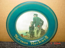 Old,Souvenir,metal or tin Plate,Norman Rockwell,Looking Out To Sea,Destiny Art