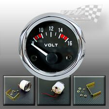 "VOLT GAUGE DIAL 8-16v FACE 52mm / 2""  BOAT CAR VAN"