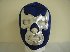 WRESTLING MASK MEXICAN BLUE DEMON NEW ADULT WRESTLING LUCHA LIBRE LUCHADOR ADULT