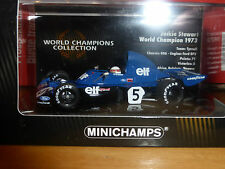 Minichamps 1:43 Jackie Stewart Tyrrell 006 1973 World Champions Collection BNIB