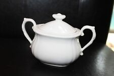 Mikasa Dinner at Eight Simpley Elegant Sugar Bowl with Lid Japan