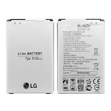 For LG K8 K350N Phoenix 2 genuine original battery replacement BL-46ZH 2125mah