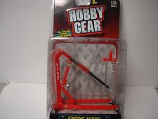 Engine Hoist - Red  - Hobby Gear -1/18,  1/24 & G Scale - by PHOENIX TOYS