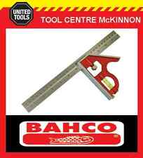 """BAHCO CS300 12"""" / 300mm COMBINATION SQUARE WITH SCRIBER"""