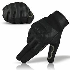 Rebel Tactical Hard Knuckle Fast Rope Nomex 3A Military Climbing Gloves Black