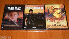 MAD MAX I , II y III - Español / English / Deutsch - Precintada