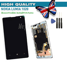 New LCD Display Touch Screen Digitizer Assembly & FRAME For Nokia Lumia 1020 UK