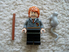 LEGO Harry Potter - Rare Ron Weasley Minifig w/ Rat Scabers - 4738 - Excellent