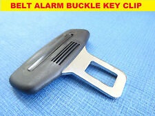*BLACK* PEUGEOT 3008/3008/5008 SEAT BELT ALARM BUCKLE KEY CLIP SAFETY CLASP STOP