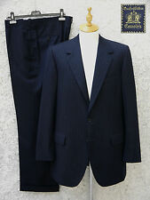 OXXFORD Clothes Custom Navy Rain Stripe Suit ( est 42-44)
