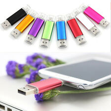 Min 2 in1 Micro and Mini Dual USB Thumb Flash Pen Drive 8 GB For Phone PC