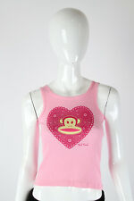 Paul Frank Medium $29 Ladies Pink Sparkle Doily Julius Youth Tank Top 542600003I
