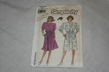 Vintage Simplicity Sewing Pattern #7884 Size NN 10-18 Misses Dress
