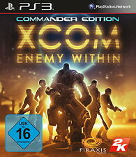 Sony Playstation 3 PS3 Spiel XCOM: Enemy Within Commander Edition
