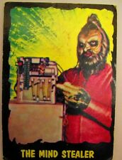 Vintage 1964 Outer Limits Topps Trading Card Bubbles Inc. #31 The Mind Stealer