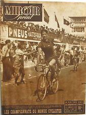 Miroir Sprint n°63 -  1947 - Middelkamp - Coppi - Bevilacqua - Benfanati -
