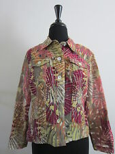 RUBY RD Semi Sheer Top Jacket Sz 10P Lightweight Top Jacket From Stein Mart